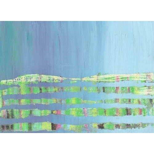 Tableau Abstrait -Courant Marin (I).-