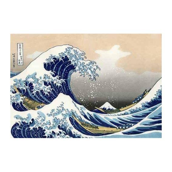 imagens étnicas e leste - Quadro -Tsunami-