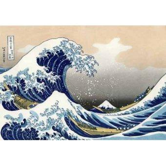- Tableau -La Grande Vague De Kanagawa- - Hokusai, Katsushika