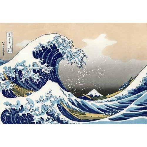 Tableau -La Grande Vague De Kanagawa-