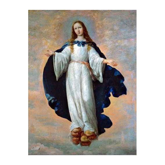 imagens religiosas - Quadro -La Inmaculada Concepcion (Purisima)-