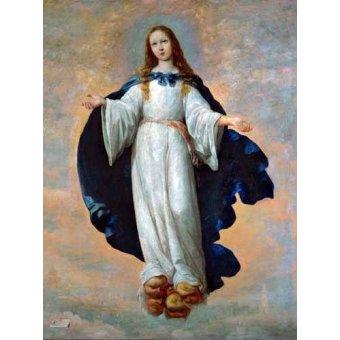 Tableaux religieuses - Tableau -La Inmaculada Concepcion (Purisima)- - Zurbaran, Francisco de