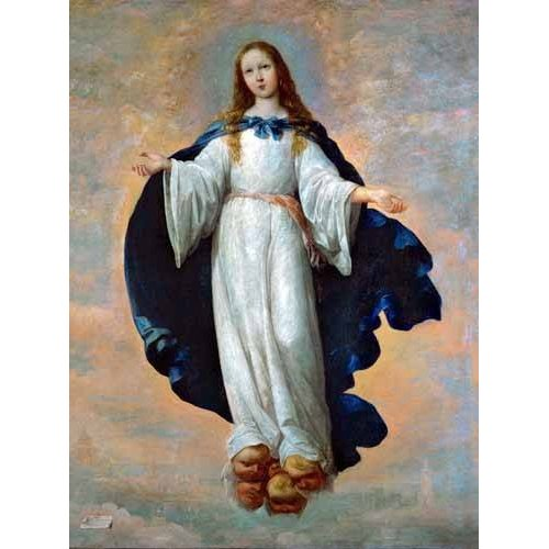Tableau -La Inmaculada Concepcion (Purisima)-