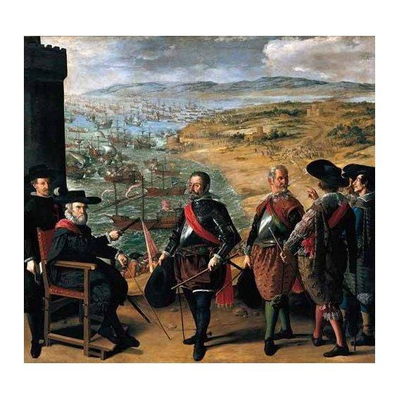 pinturas do retrato - Quadro -Defensa de Cadiz contra los ingleses-
