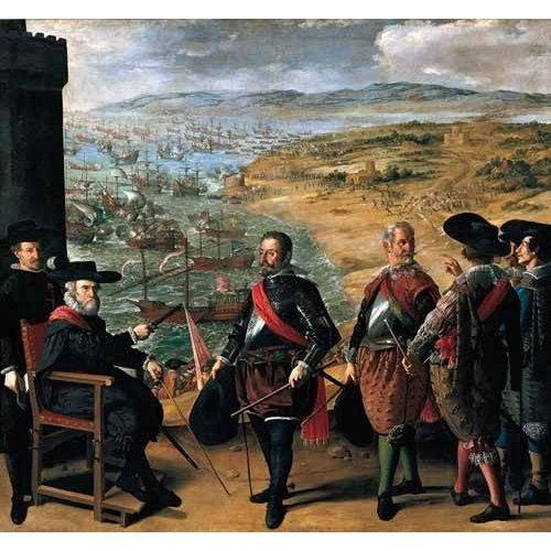 Tableau -Defensa de Cadiz contra los ingleses-