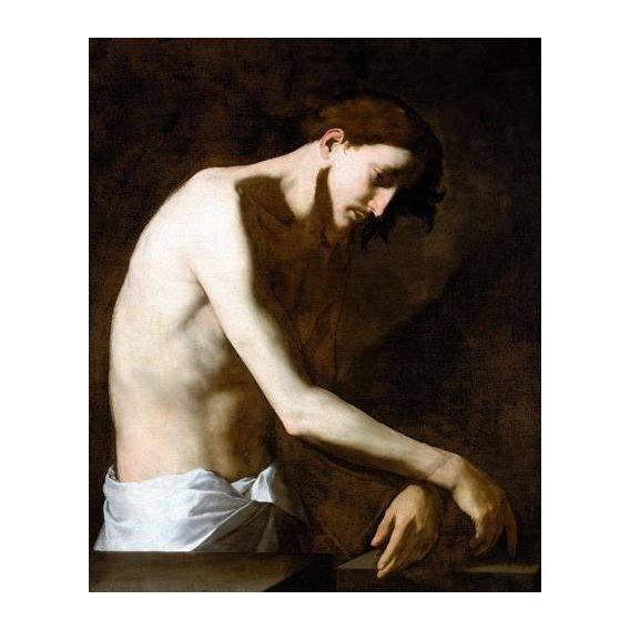 imagens religiosas - Quadro -La Flagelacion De Jesucristo-
