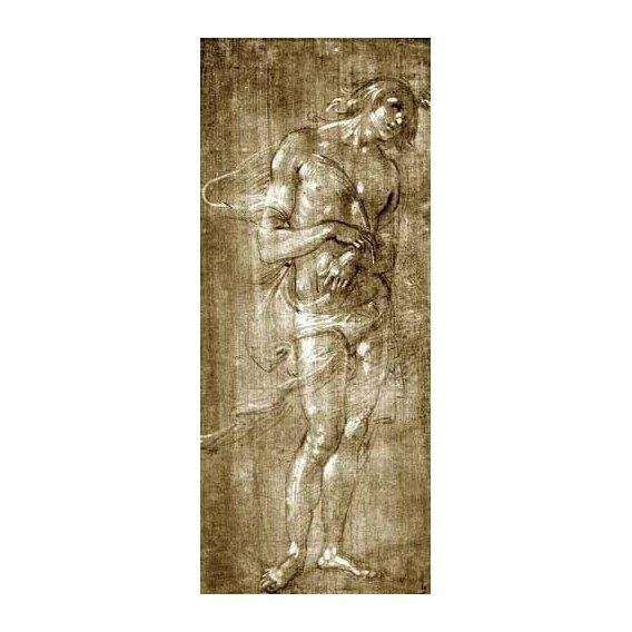 imagens de mapas, gravuras e aquarelas - Quadro -Figura masculina-