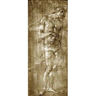Tableaux cartes du monde, dessins - Tableau -Figura masculina- - Botticelli, Alessandro