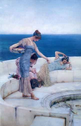 cuadros-decorativos - Tableau -Silver Favourites- - Alma-Tadema, Lawrence