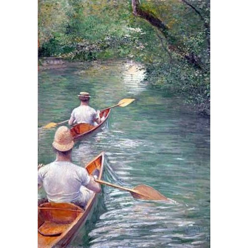 Tableau -The Canoes, 1878-