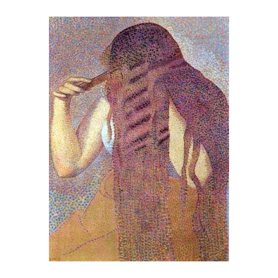 quadros decorativos - Quadro -La cabellera, 1892-