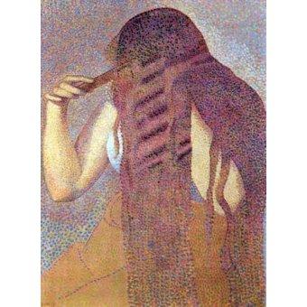 Tableaux de Personnages - Tableau -Les cheveux, 1892- - Cross, Henri Edmond