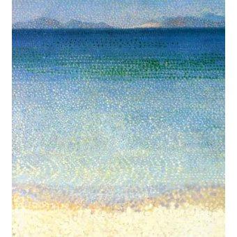 Tableaux de paysages marins - Tableau -Les îles d'or- - Cross, Henri Edmond