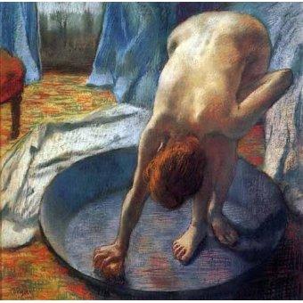 Tableaux de Nus - Tableau -La baignoire- - Degas, Edgar