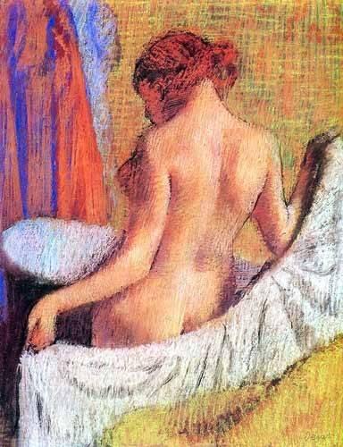 cuadros-decorativos - Tableau -Après le bain femme avec une serviette- - Degas, Edgar