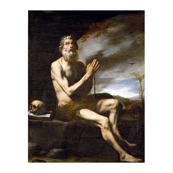 imagens religiosas - Quadro -San Pablo Ermitaño-