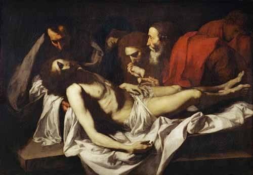 tableaux-religieuses - Tableau -Deposition- - Ribera, Jose de