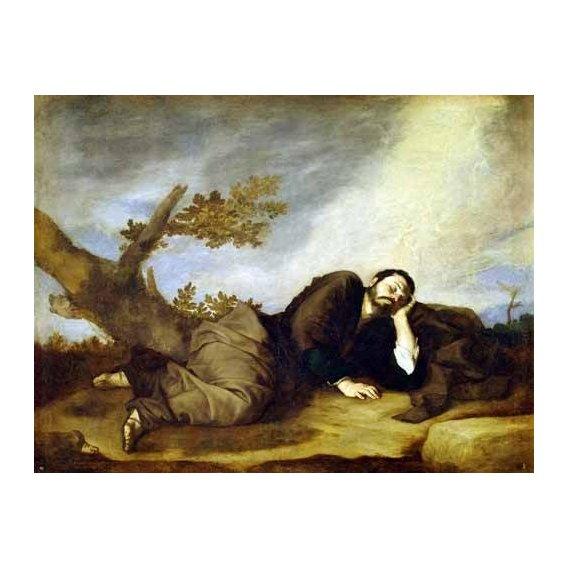 imagens religiosas - Quadro -El Sueño De Jacob-
