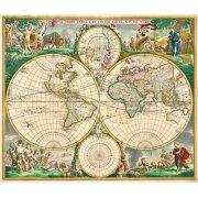 Tableau -Nova Orbis de Wit, 1670-