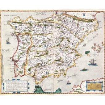Tableaux cartes du monde, dessins - Tableau -España antiguo-1 - - Anciennes cartes