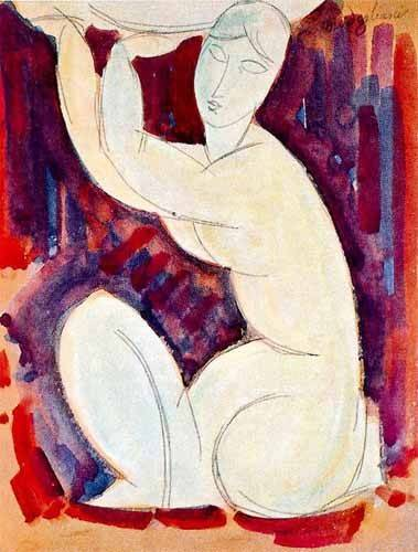 cuadros-decorativos - Tableau -Cariatide-0- - Modigliani, Amedeo