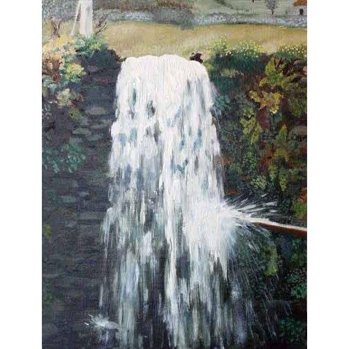 pinturas de paisagens - Quadro -Taramundi (II)-