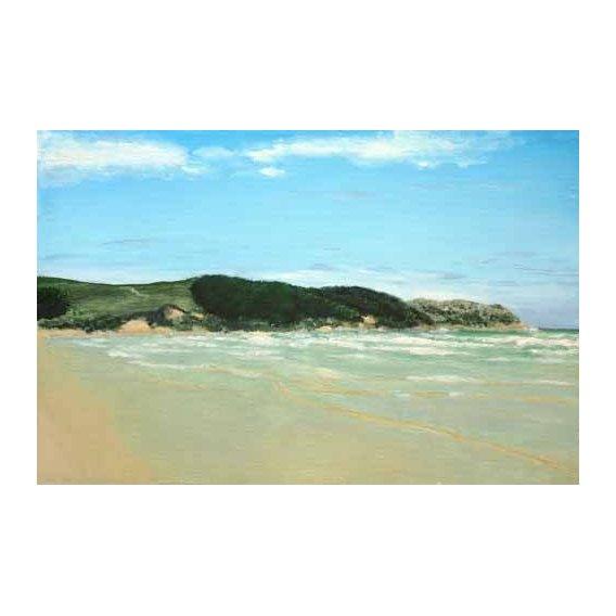 pinturas de paisagens marinhas - Quadro -Playa Cantabria-