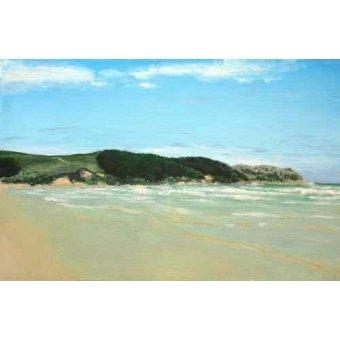 Tableaux de paysages marins - Tableau -Playa Cantabria- - Ricardo, Emilio