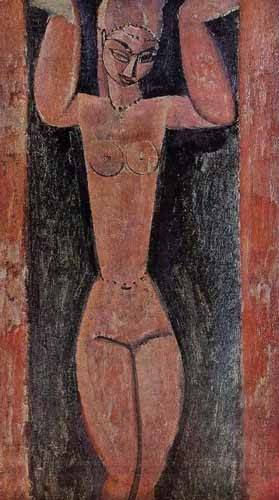 cuadros-decorativos - Tableau -Cariátide-2- - Modigliani, Amedeo
