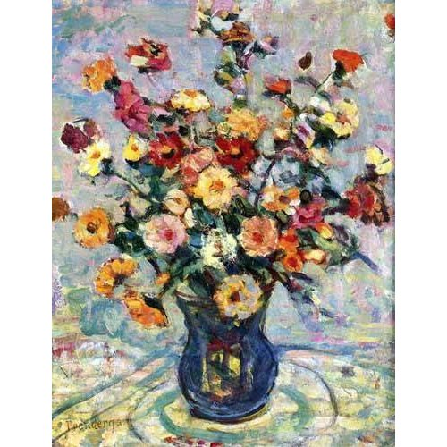 quadros decorativos - Quadro -Bodegón con flores-
