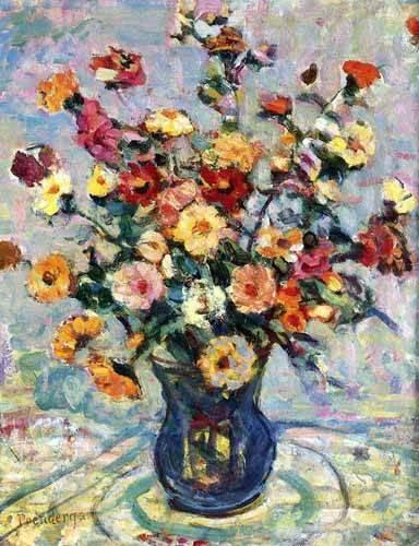 cuadros-decorativos - Tableau -Bodegón con flores- - Prendergast, Maurice