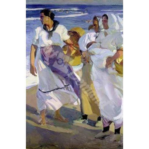 Tableau -Pêcheurs valenciens, 1915-