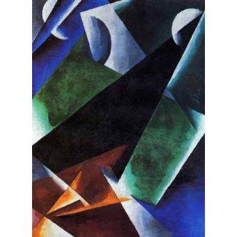 Tableaux abstraits - Tableau -Arquitect- - Popova, Lyubov Sergevna