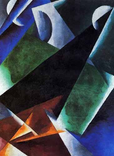 tableaux-abstraits - Tableau -Arquitect- - Popova, Lyubov Sergevna