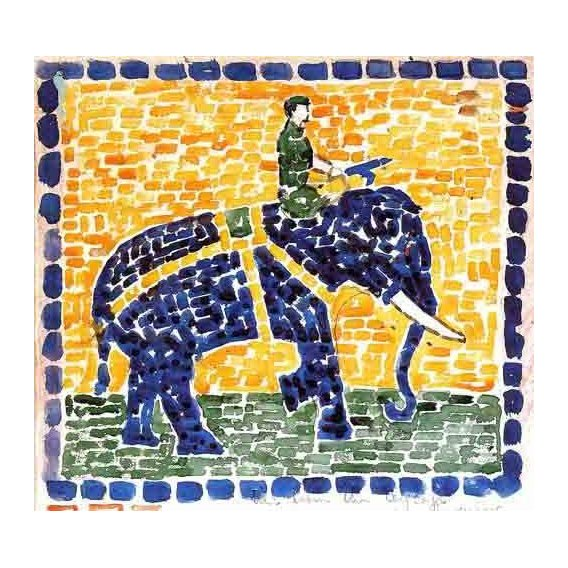 quadros decorativos - Quadro -Elefante-