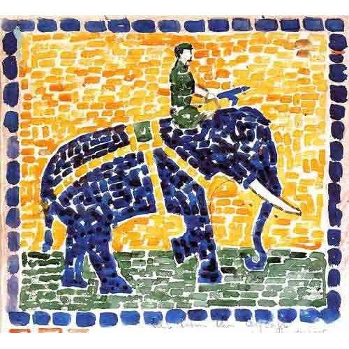 Tableau -Elefante-