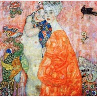 Tableaux de Nus - Tableau -Les Amies- - Klimt, Gustav