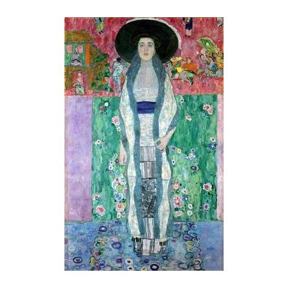 pinturas do retrato - Quadro -Mrs Adele Bloch-Bauer II-