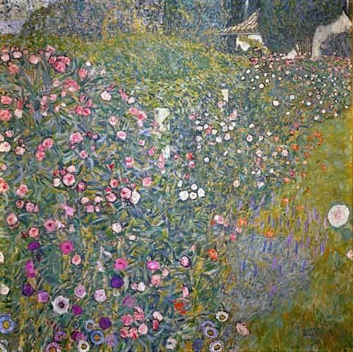 tableaux-de-paysages - Tableau -Jardin italien- - Klimt, Gustav