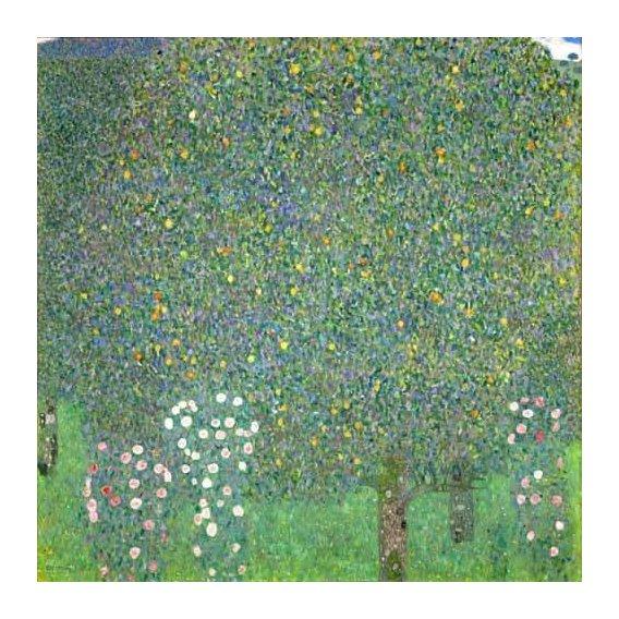 pinturas de paisagens - Quadro -Roses under the trees, 1918-