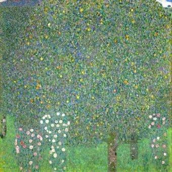 Tableau -Roses sous les arbres, 1918-