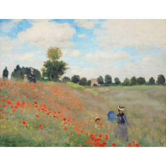 - Tableau -Les coquelicots, 1873 - - Monet, Claude