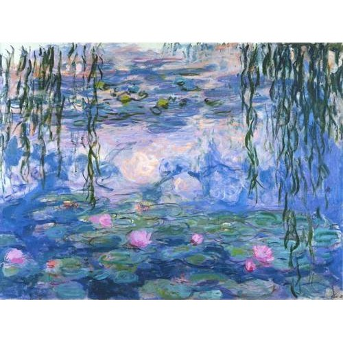Tableau - Nymphéas (Waterlilies), 1916-19 -