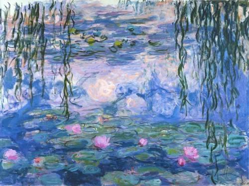 tableaux-de-paysages - Tableau - Nymphéas (Waterlilies), 1916-19 - - Monet, Claude