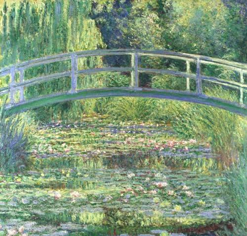 tableaux-de-paysages - Tableau - Le bassin aux nymphéas, harmonie verte, 1899 (Waterlily Pond) - - Monet, Claude