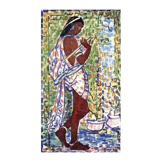 quadros decorativos - Quadro -Bailarina Hindú-