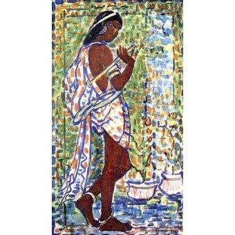 Tableau -Danseuse hindoue-