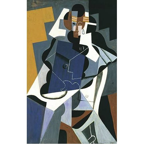 Tableau -Figure of a Woman, 1917-