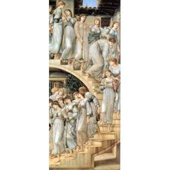 Tableaux de Personnages - Tableau -The Golden Stairs- - Burne-Jones, Edward