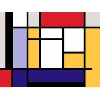 Tableaux abstraits - Tableau -Abstrait MM_MONDRIAN (II)- - Vicente, E. Ricardo